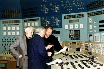 Enhanced training for employees at Soviet-designed nuclear power plants ranges from supervisory and management skills to equipment maintenance and control room operations.